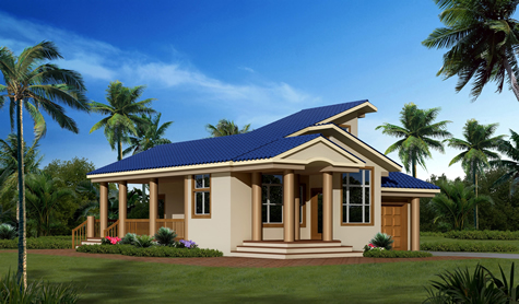 House plans and design architectural designs caribbean homes for Caribbean home plans